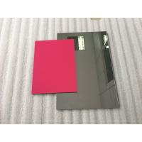 Pearl Red ACP Aluminium Composite Panel Sheets Lightweight With PVDF Painting Manufactures