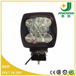 Brightness 12v LED WOrk Light CREE 80w Automotive LED Work Light Manufactures