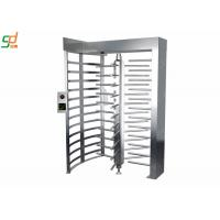Durable Full Height Turnstiles Access Passge System Security Rotary Turnstile Gate Manufactures