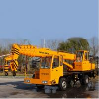 Chinese manufacturer small wheel crane truck mounted crane with telescopic GNQY-Z5 Manufactures