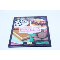 Flexibound Cook Book Printing Perfect Binding With Glossy Lamination Manufactures