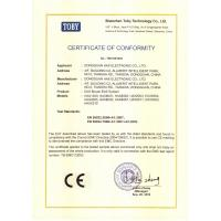 Dongguan HAX Electronic Co., Ltd. Certifications