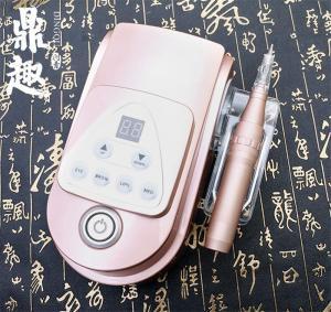 China 110-240V Semi-permanent Tattoo Makeup Machine Maquina De Tatuagens Microblading Eyebrows Pen Rechargeable Rotary Tattoo on sale