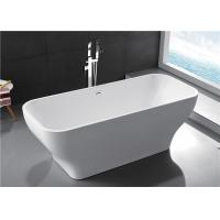 Quality Modern Acrylic Free Standing Bathtub Single / Double Ended Tub Roll Top Thin for sale
