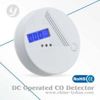LCD Display CO Alarm Detector With Electrochemistry CO Sensor DC 9V Manufactures