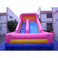 Inflatable Water Slides, Giant Beach Slide with Wooden Stairs, Hippo Slide Manufactures