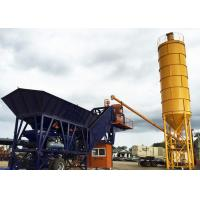 Simple Cement Admixture Mobile Belt Type Transit Mix Plant 50m3/H CE ISO Approved Manufactures