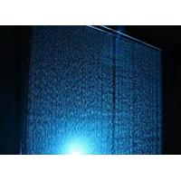 Computer Controlled Digital Water Curtain Fountain With Lights Modern Design Manufactures