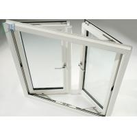 Weather Resistance Double Glazed Sash Windows With Stainless Steel Security Mesh Manufactures