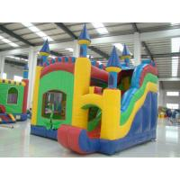 Colourful Outdoor Inflatable Sports Equipment Castles For Fun Manufactures