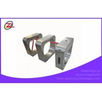 China Security Stainless Steel Tripod Turnstile Gate With Barcode Scanner on sale