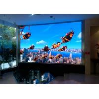 Wall Mounted Indoor Full Color Led Display Screen 2.5mm 160 Degree Manufactures