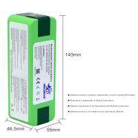Quality 14.4V 5800mAh Li-iON iRobot Vacuum Cleaner replacement Battery for Roomba 500 600 700 800 Series 510 531 532 620 650 770 for sale