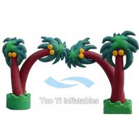 Tree Design Inflatable Entrance Arch Advertising With PVC Tarpaulin Material Manufactures