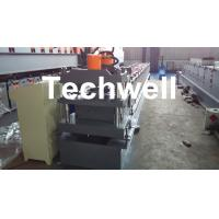 Roof Ridge Cap Cold Roll Forming Machine with HRC 50-60 Cutting Blade Manufactures