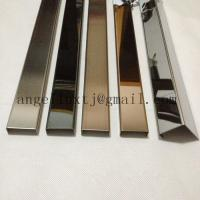 China Custom stainless steel u-channel for decoration Foshan China supplier on sale