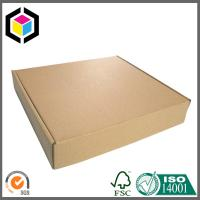 Folding Origin Brown Color Corrugated Carton Shipping Box; Kraft Mailing Box Manufactures