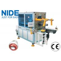 Electric Motor Stator Winding Inserting Machine with horizontal frame design Manufactures