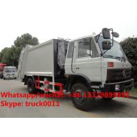 HOT SALE!China-made dongfeng 10-14m3 garbage compactor truck, Factory sale best price dongfeng 10-15tons garbage truck Manufactures