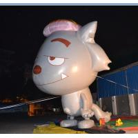 Quality Inflatable Advertising Products Grey Show Wolf  3m Height Fireproof for sale