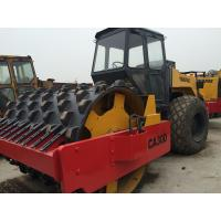 Dynapac CA30D Second Hand Road Roller , Pull Behind Rubber Tire Roller For Sale Manufactures