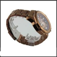 Quality Alloy And Brown Silicon Band Multifunction Wrist Watch With Most Features for sale