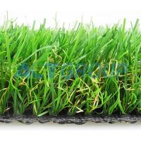 High Density Commercial Synthetic Grass , Dog Friendly Artificial Grass Anti - Bacterial Manufactures