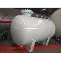 Buy cheap 2018s new high quality smallest size 5,000Liters surface propane gas storage tank for sale, mini lpg gas storage tank from wholesalers