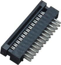 1.27mm  2*13P  DIP Plug Connector PBT 30%GF UL94V-0  Brass  Sel Au/Ni Manufactures