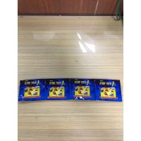 Blue Aluminium Foil Packaging Bags Glossy Colorful Printing Three Side Seal Foil Toys Bag Manufactures