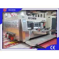 High Efficiency Flexo Corrugated Machine 3 Color Printing Slotting CE Approved Manufactures