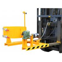 Forklift Drum Pouring Attachment With 300Kg Loaing Capacity Manufactures