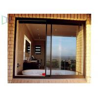 Aluminium Double Glazing Horizontal Sliding Windows Impact And Abrasion Resistant Manufactures