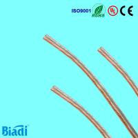 Quality Transparent PVC speaker Wire for sale