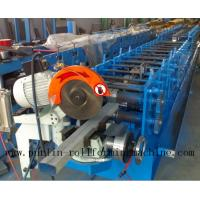 Downpipe / Water Pipe / Downspout Roll Forming Machine , Drain Pipe Production Line Manufactures