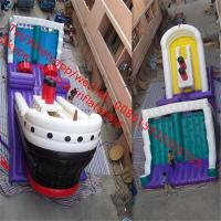 Sell Inflatable Slide Combo- A'hoy Matey  plastic inflatable slide outdoor games Manufactures