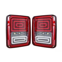 High Quality CE Rohs Waterproof 24w 12v 24v Jeep Wrangler Led Tail Light Headlight Manufactures