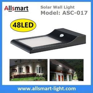 9W 48LED 850LM Sensitive Motion PIR Sensor Solar Power Corner Lamp LED Light Wall Light Stairway Garden Outdoor Lighting Manufactures