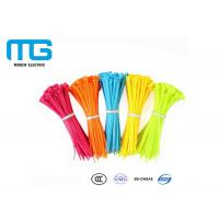 Electrical Wiring Nylon Cable Ties Customized Total Length CE Certified Manufactures