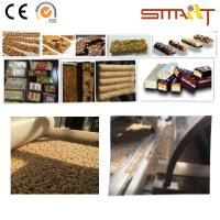 Siemens Touch Screen Cereal Bar Forming Machine High - End Sesame Chikk Machine Manufactures