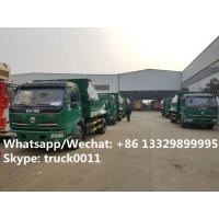 Quality dongfeng 6 wheel dump truck with tarp cover Specifications of dongfeng 6 wheel dump truck/ tipper truck with tarp cover for sale