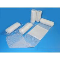 China First aid conforming bandage with  pad medical bandages medical dressings on sale
