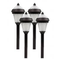 Patio Yard Outdoor Decorative Solar Lights Dual Warm White Solar Garden Lights Manufactures