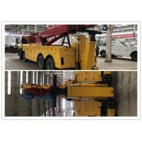 Control Structure Big Truck Wrecker 0 - 4500m Altitude 45 Meters Length Steel Cable Manufactures