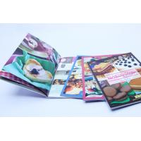 Glue Binding CookBook Printing With Spot UV , Recycled Glossy Art Paper Manufactures
