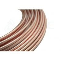 Copper Coated Galvanized Steel Pipe 4.76 X 0.71 6.35 X 0.71 Low Carbon Steel Manufactures