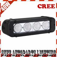 IP68 USA CREE LED 8'' 4pcs*10W 40W LED Off road Light bar,LED work Light bar for Truck 4X4 Manufactures