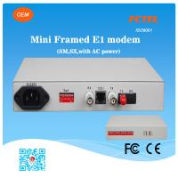 G.703 Low Consumption Fiber Optic Modem With Dip Switch Manufactures