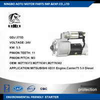 M2T78372 M2T78381 M2T78382 Commercial Vehicle Parts Diesel Engine Starter Motor Components for MITSUBISHI 6D31 Manufactures