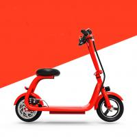 Water proof shock absorption folding electric smart scooter with elastic sponge seat Manufactures